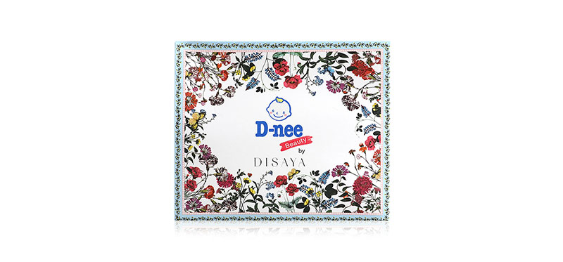 D-nee Beauty Cotton Pad Perfectly Clean 80 Sheets