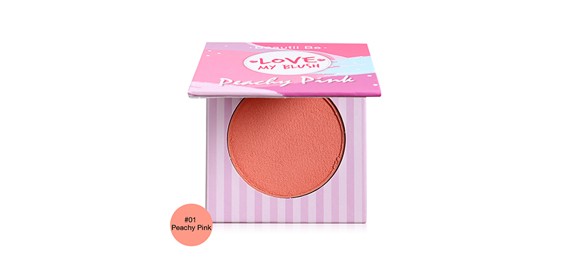 Beautii Be Love My Blush 9g #01 Peachy Pink