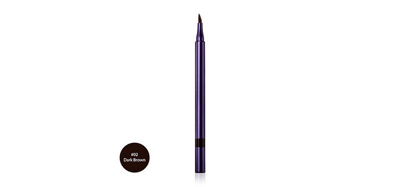Cute Press Jet Set Comb & Fill Eyebrow Tint 1ml #02 Dark Brown
