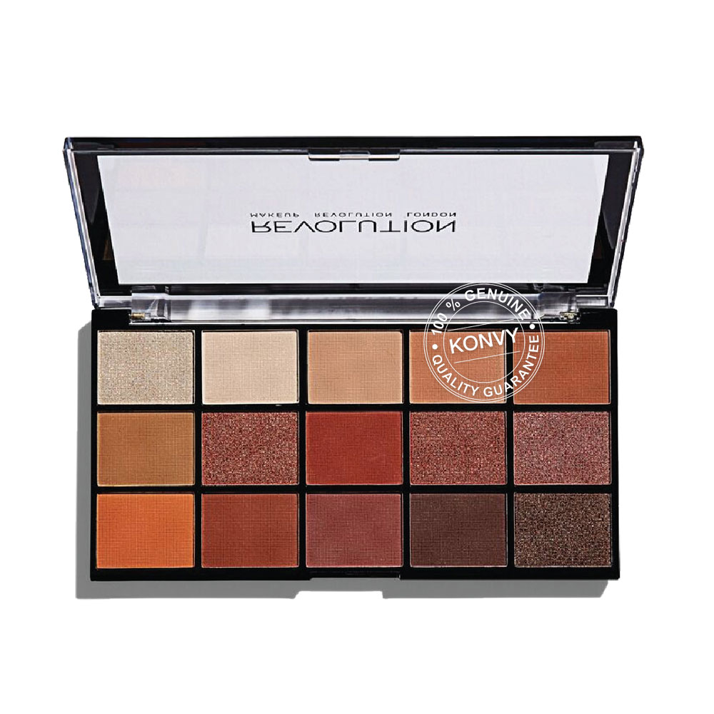 Makeup Revolution Re-loaded Eyeshadow Palette 16.5g #Iconic Fever