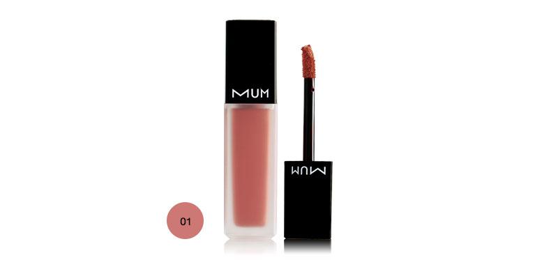 MUM Exclusive Lip Liquid Matte 6ml #01