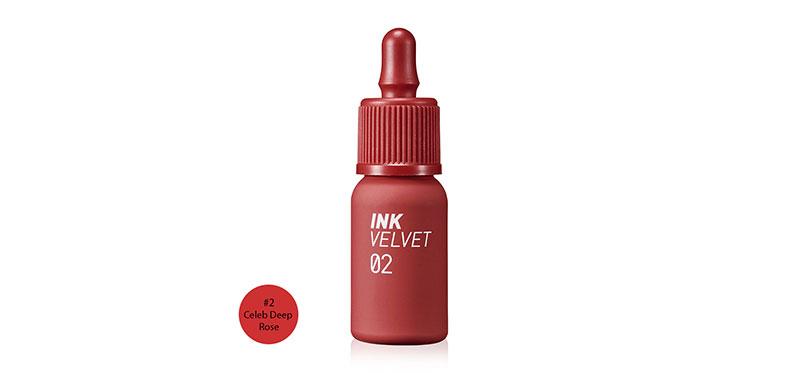 Peripera Ink Velvet 4g #2 Celeb Deep Rose