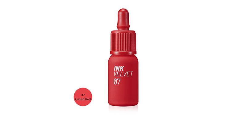 Peripera Ink Velvet 4g #7 Girlish Red