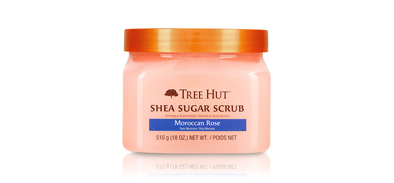 Tree Hut Shea Sugar Scrub Moroccan Rose 510g