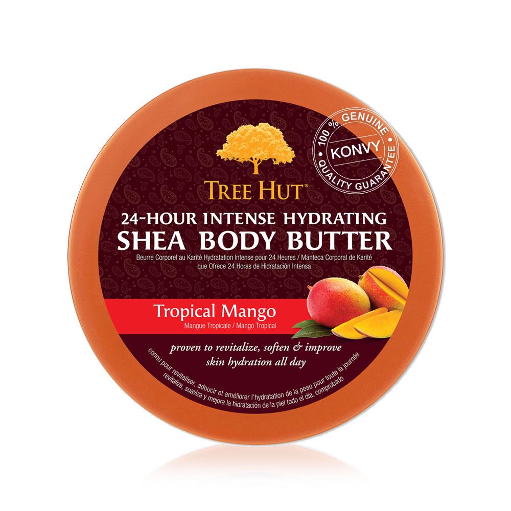 Tree Hut Shea Body Butter Tropical Mango 198g