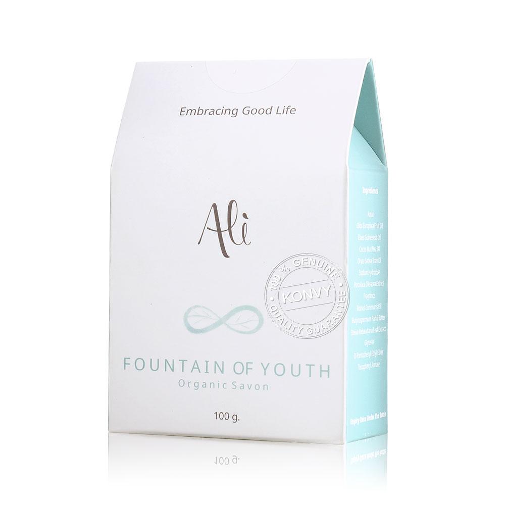 Ali Fountain of Youth Organic Savon 100g ( สินค้าหมดอายุ : 2020.07 )