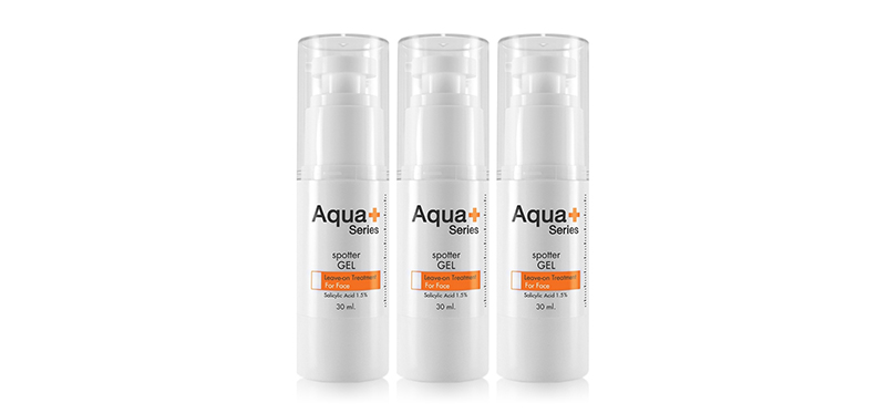 [แพ็คสาม] Aqua+ Series Spotter Gel (30ml x 3pcs)