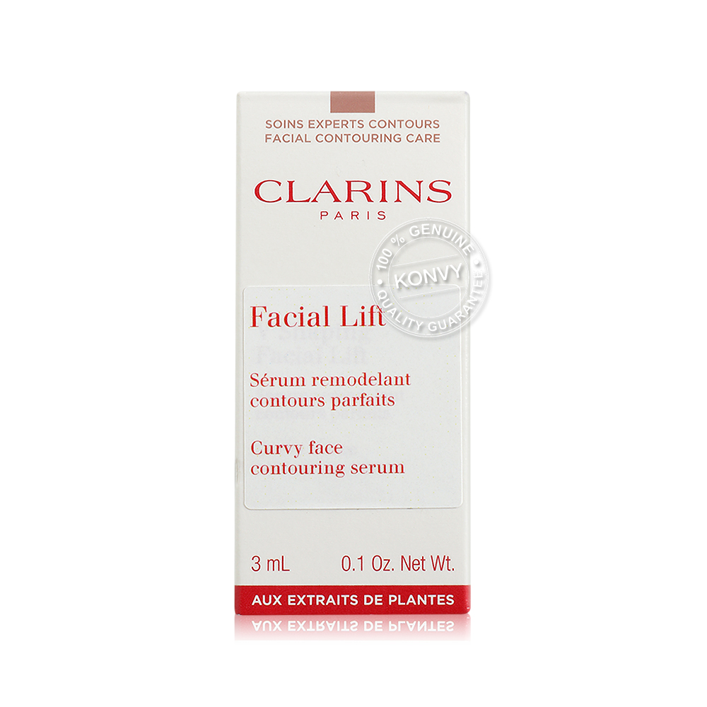 แพ็คคู่ Clarins Facial Lift Curvy Face Contouring Serum (3mlx2pcs)