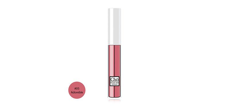 Cho Velvet Tint Lipstick 5ml #05 Adoreble