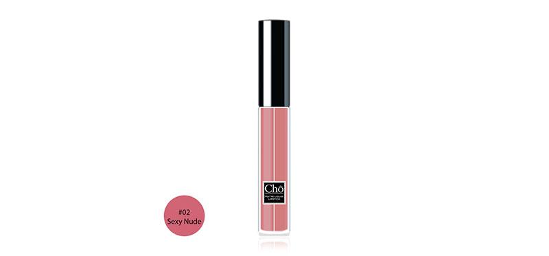 Cho Matte Liquid Lipstick 5ml #02 Sexy Nude
