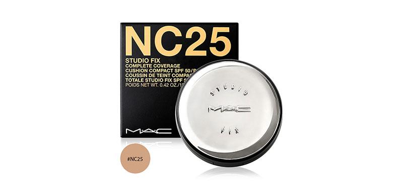 MAC Studio Fix Complete Coverage Cushion Compact SPF 50/PA++++ 12g #NC25