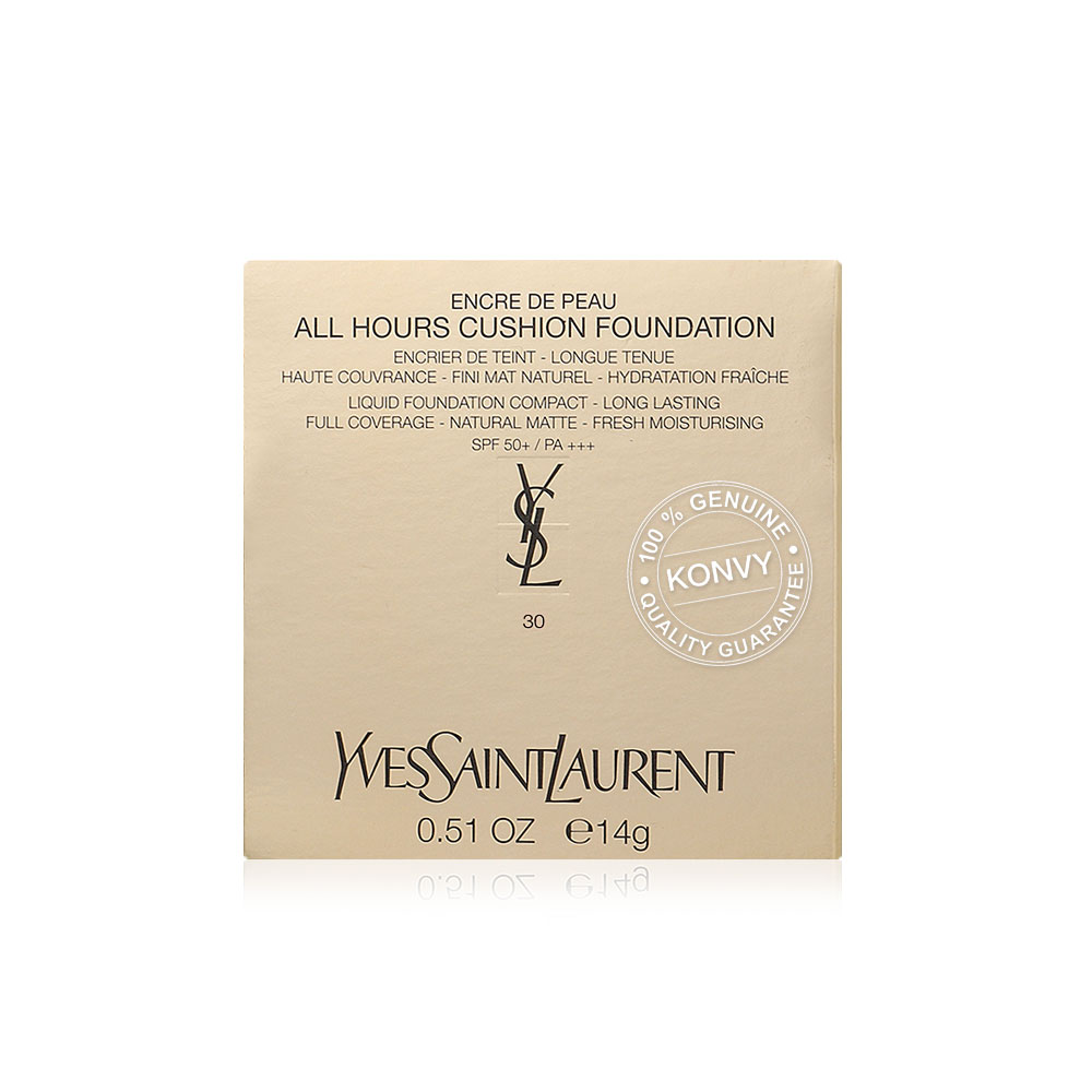 YSL All Hours Cushion Foundation 14g #30