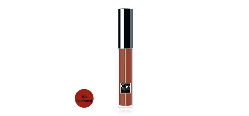Cho Matte Liquid Lipstick 5ml #04 Rosewood