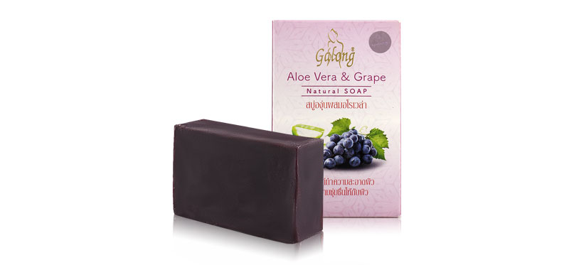 Galong Grape & Aloe Vera Soap Bar 100g