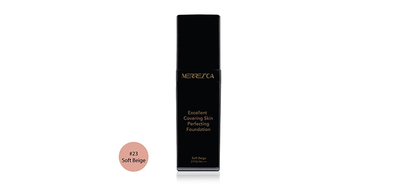 Merrez'ca Excellent Covering Skin Perfecting Foundation SPF50/PA+++ 30ml #23 Soft Beige