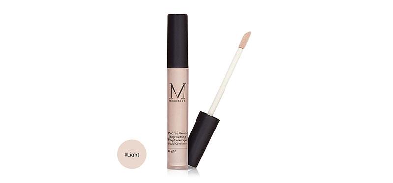 Merrez'ca Professional Long Wearing & High Coverage Liquid Concealer 4g #Light
