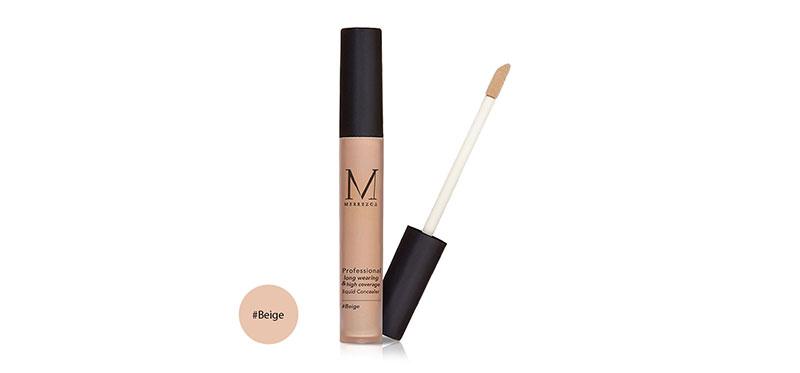 Merrez'ca Professional Long Wearing & High Coverage Liquid Concealer 4g #Beige
