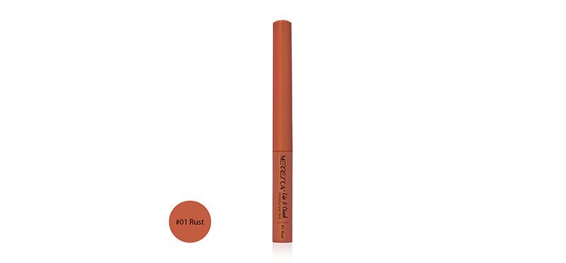 Merrez'ca Lip & Cheek Tint 2g #01 Rust