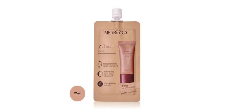 Merrez'ca Skin Lighter Glow 5g #Warm