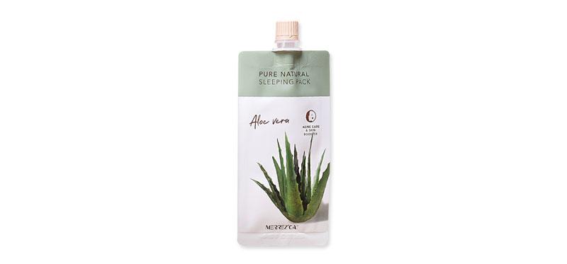 Merrez'ca Pure Natural Sleeping Pack Aloe Vera 10ml