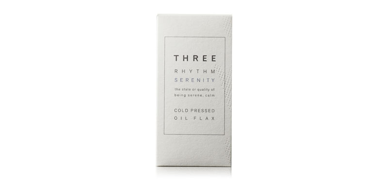 THREE Rhythm Sereity Cold Pressed Oil Flax 180 Capsules
