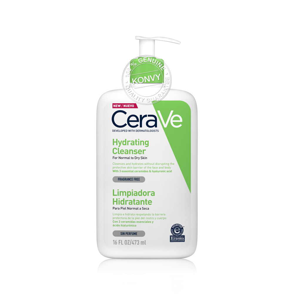 CeraVe Set 2 Items Moisturising Cream 454ml + Hydrating Cleanser 473ml