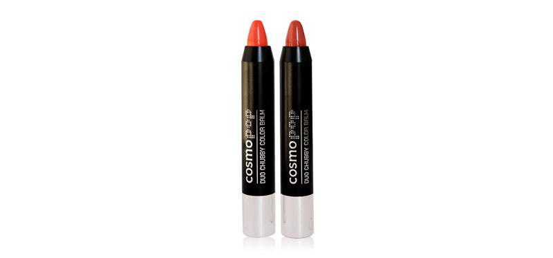 Cosmopop Duo Chubby Color Balm 5.4g #Parfait