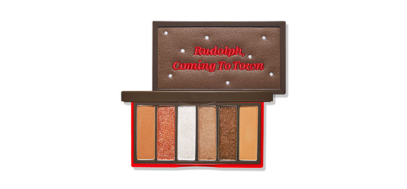 Etude House Rudolph Coming to Town Play Color Eyes Mini #2 Rudolph, Pulling The Sleigh