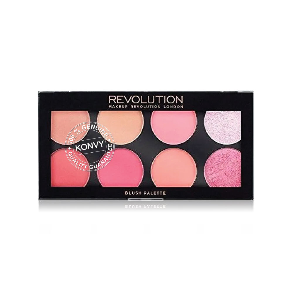 Makeup Revolution Ultra Professional Blush Palette #Sugar And Spice 13g