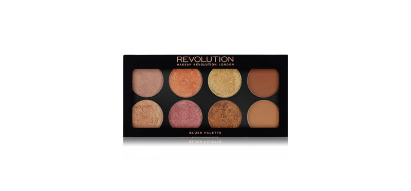 Makeup Revolution Ultra Blush Palette #Golden Sugar 2 Rose Gold
