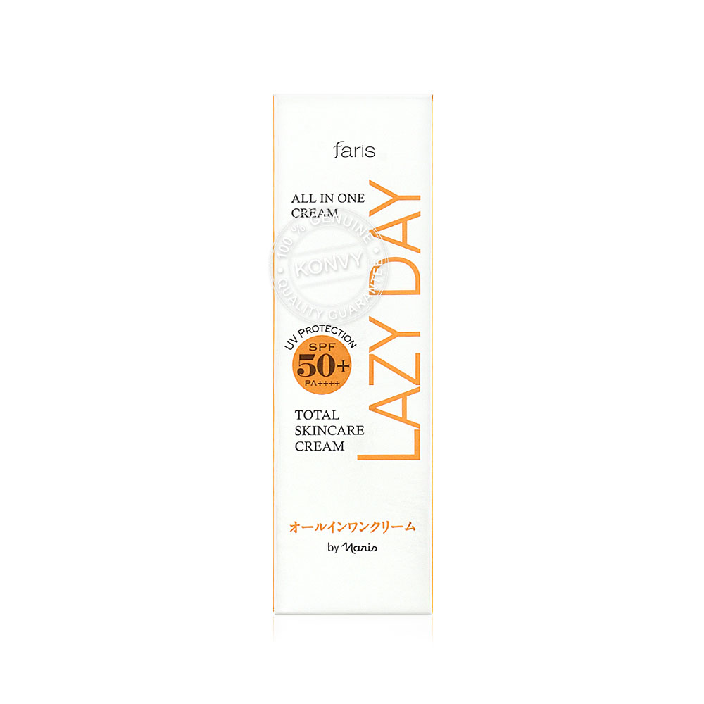 Faris by Naris Faris Lazy Day Total Skincare Cream SPF50+/PA++++ 45ml