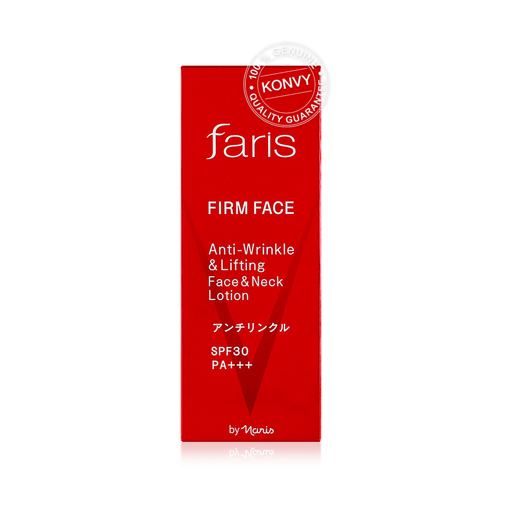 Faris by Naris Firm Face Anti-Wrinkle & Lifting Face & Neck Lotion SPF30/PA+++ 40ml