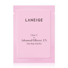 ฟรี! Clear C Advanced Effector EX 5ml + Fresh Brightening Cleansing Oil 4ml (1 ชิ้น / 1 ออเดอร์ )  เมื่อช้อปสินค้า Laneige อย่างน้อย 1 ชิ้น