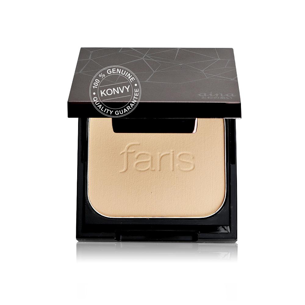 Faris by Naris Aina Perfect Skin Foundation Powder SPF30/PA+++ 10g #21 Light Beige Ochre