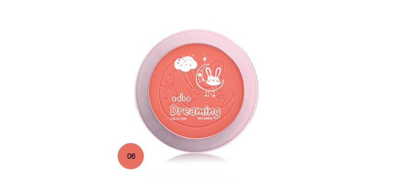 ODBO Dreaming Collection Blusher 6g OD165 #06 ( สินค้าหมดอายุ : 2021.09 )