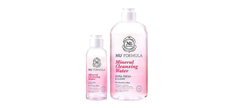 Nu Formula Mineral Cleansing Water Set (510ml+100ml)