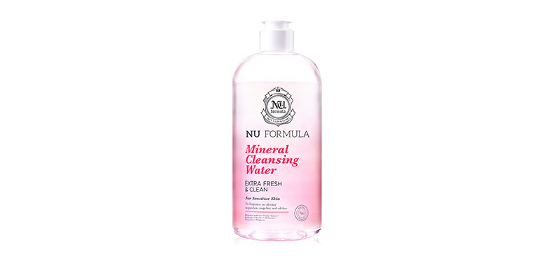 Nu Formula Mineral Cleansing Water For Sensitive Skin 510ml