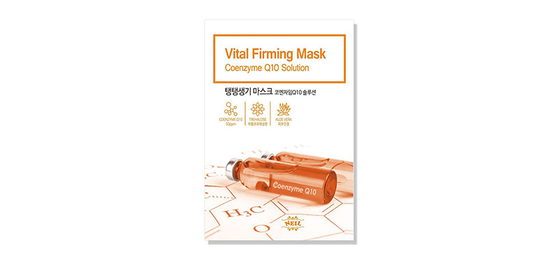 Neil Vital Firming Coenzyme Q10 Solution Mask 22g