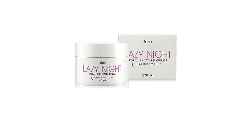 Faris by Naris Lazy Night Total Skincare Cream 50g