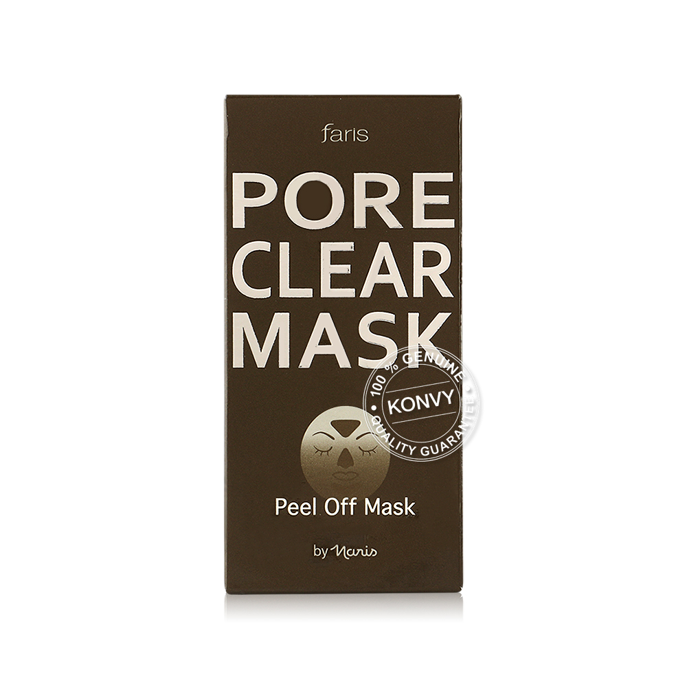 Faris by Naris Pore Clear Peel Off Mask 20g