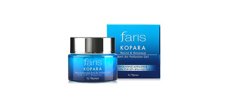 Faris by Naris Kopara Resist & Renewal Anti Air Pollution Gel 40g ( สินค้าหมดอายุ : 2021.06 )