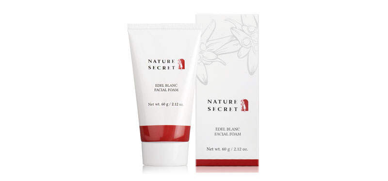 Khaolaor Nature Secret Edel Blanc Facial Foam 60g
