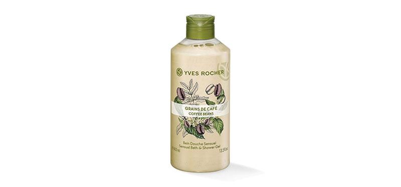 Yves Rocher Sensual Coffee Beans Shower Gel 400ml