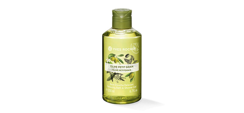 Yves Rocher Relaxing Olive Lemongrass Shower Gel 200ml