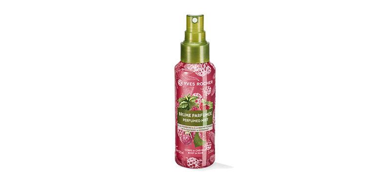 Yves Rocher Energie Raspberry Peppermint Perfumed Mist 100ml