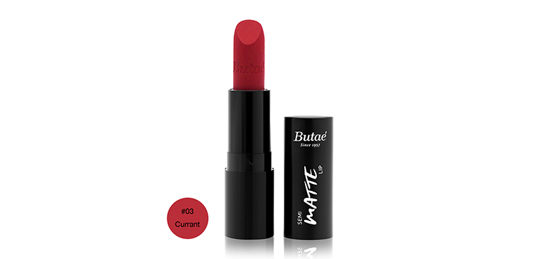 Butae Semi Matte Lip 3.5g #03  Currant