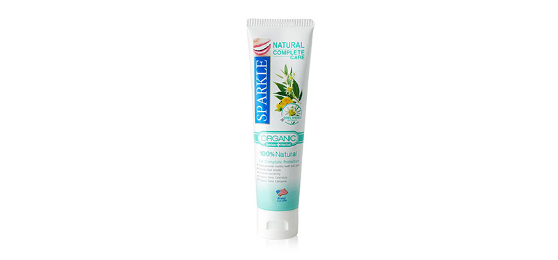 Sparkle Natural Complete Care Toothpaste 100g #SK0326