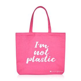 ฟรี! Cute Press I Am Not Plastic Bag (1 ชิ้น / 1 ออเดอร์) เมื่อช้อปสินค้า Cute Press ครบ 699 บาท