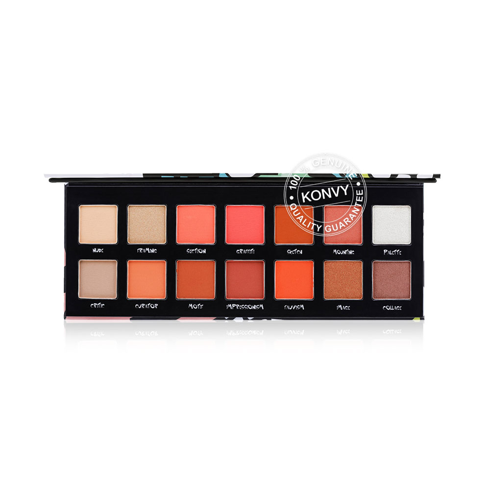 ODBO The Graphicity 14 Color Eyeshadow Palette 12g OD264 #01