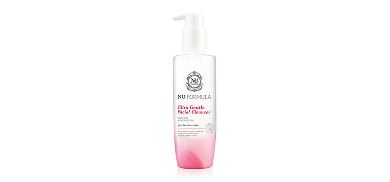 Nu Formula Ultra Gentle Facial Cleanser 220ml